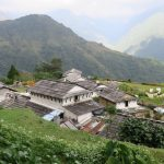 A traditional Gurung Village on the trail - Ghandruk on Annapurna Poonhill Trek