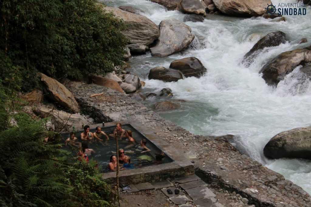 The well maintained Jhinu hot spring is a big draw amongst the tourists.
