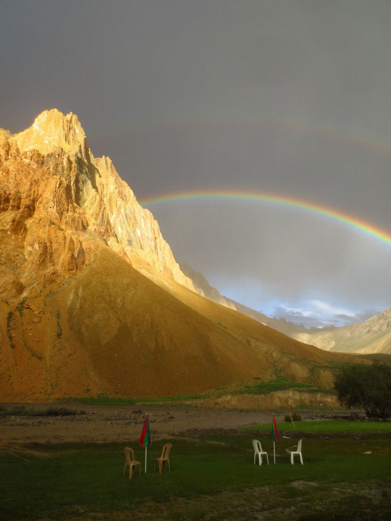 double-rainbow-kanji-village-ladakh-Adventure-Sindbad