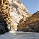 Magnificent Zanskar Gorge and the chadar on the Frozen River Trek in Ladakh