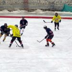 Ice Hockey is a favourite sport during the winters in Ladakh. Clicked during the Chadar Trek