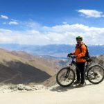 Mountain Biking down Khardungla Top on Ladakh-Bike,Hike,Raft trip by Adventure Sindbad