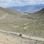 Road Down to Leh from K.Top on Ladakh-Bike,Hike,Raft trip by Adventure Sindbad