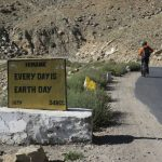 Yes, Every Day is Earth Day on Ladakh-Bike,Hike,Raft trip by Adventure Sindbad
