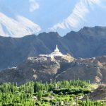 Shanti Stupa and Leh Valley on Ladakh-Bike,Hike,Raft trip by Adventure Sindbad