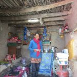 A charming shopkeeper at Umlung on the Markha Valley Trek in Ladakh by Adventure Sindbad