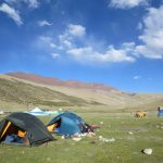Camping at Nimaling Campsite on the Markha Valley Trek in Ladakh by Adventure Sindbad