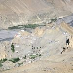 1000 years old Dhankar Monastery in Spiti on ParangLa Trek across Spiti and Ladakh by Adventure Sindbad