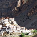 Kye-Monastery-above-Kaza-in-Spiti-on-ParangLa-Trek-across-Spiti-and-Ladakh-by -Adventure-Sindbad