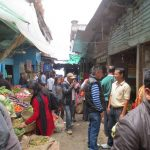 Local market at Darjeeling town