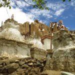 Stupas-Lamayuru-monastery-Slice-of-Ladakh-Adventure-Sindbad-003