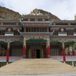 The new monastery at Kaza on Spiti Village Walks trip by Adventure Sindbad
