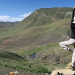Yoga on the way on Spiti Village Walks trip by Adventure Sindbad