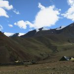 Campsite at Gangpoche on Stok Kangri Climb in Ladakh by Adventure Sindbad