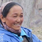 Ladhaki-shepherdess-at-Gangpoche-on-Stok-Kangri-Climb-in-Ladakh-by-Adventure-Sindbad
