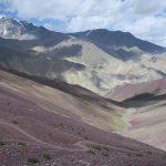 Descending from Matho La on Stok Kangri Climb in Ladakh by Adventure Sindbad