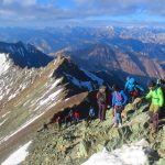 On the knife ridge at Stok Kangri in Ladakh by Adventure Sindbad
