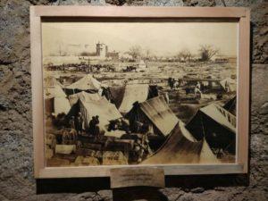 Exhibit 3 - Caravan camping area Central Asia in 1909
