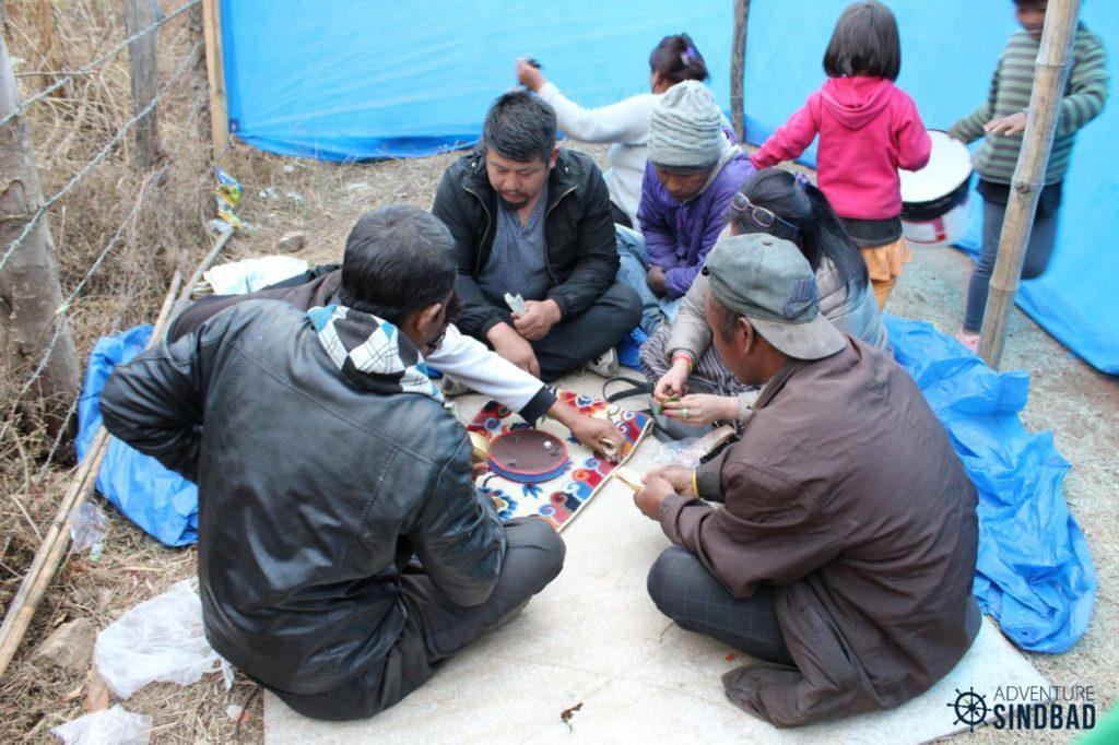 street side gambling-Bhutan-Himalaya-Adventure-Sindbad-Vishwas-Raj-51