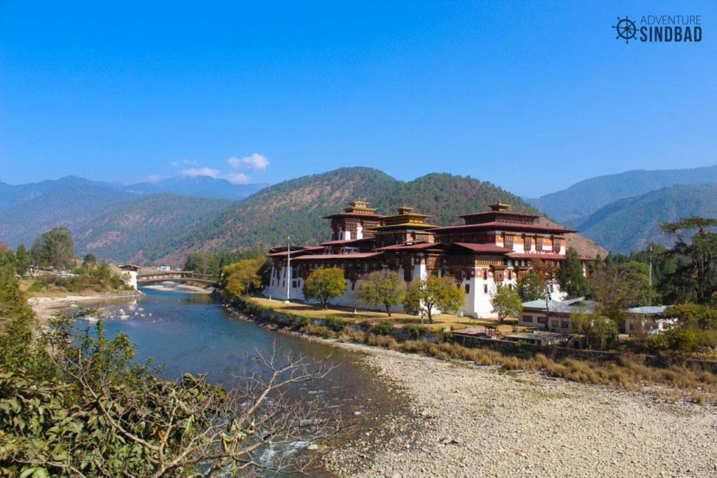 Punakha-Dzong-confluence-Bhutan-Himalaya-Adventure-Sindbad-Vishwas-Raj-13