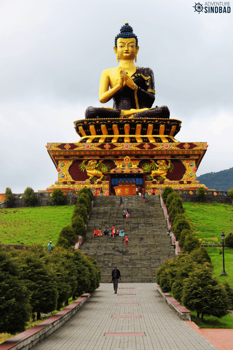 Sikkim Buddha Park at Ravangla in Sikkim
