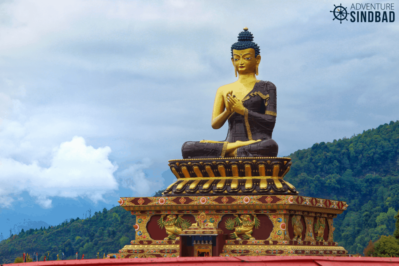 Buddha Park at Ravangla in Sikkim
