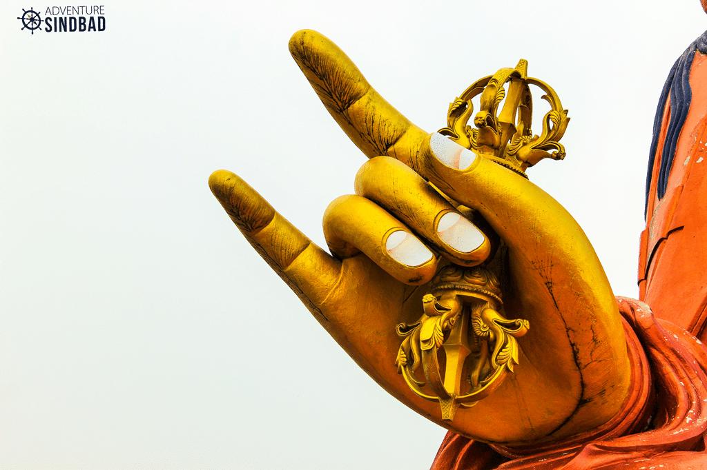 Guru Padmasambhava-(Guru Rinpoche)-Himalaya-Sikkim-Adventure-Sindbad-Vishwas-Raj