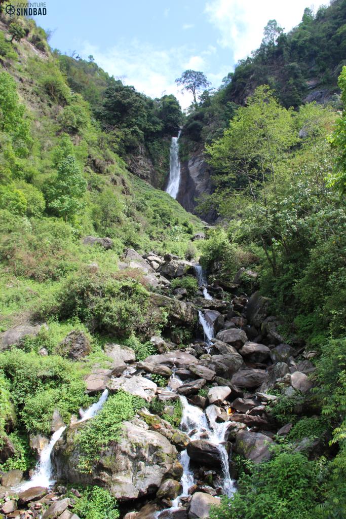 Phamromg falls -Himalaya-Sikkim-Adventure-Sindbad-Vishwas-Raj