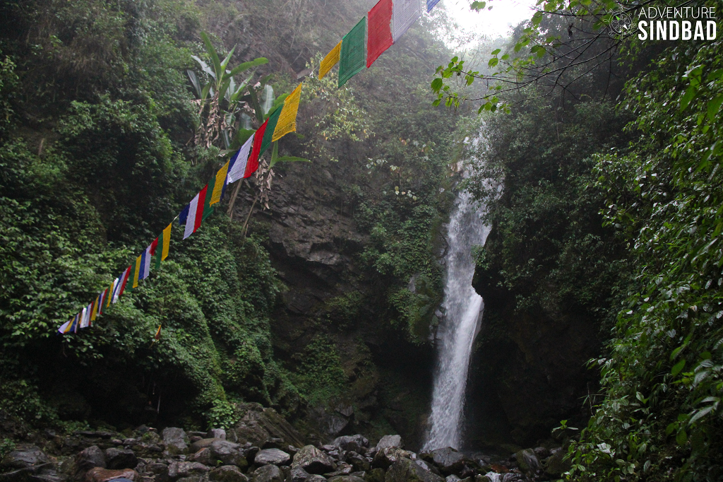 Kanchenjunga falls-Himalaya-Sikkim-Adventure-Sindbad-Vishwas-Raj